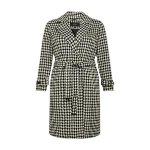 Vero Moda Curve Přechodný kabát 'Aria'  černá / krémová