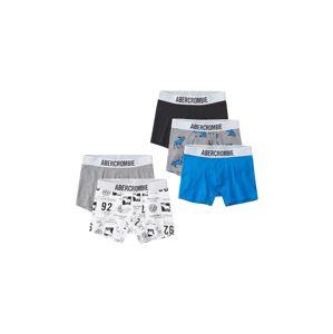 Abercrombie & Fitch Spodní prádlo  modrá / šedá / černá