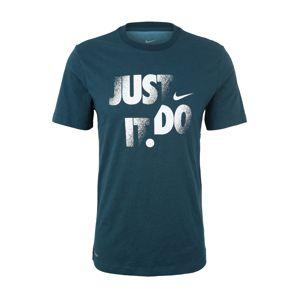 NIKE Funkční tričko 'M NK DRY TEE DFC JDI'  petrolejová