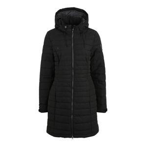 KILLTEC Outdoorový kabát 'Kelyna'  černá