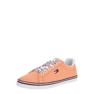 Tommy Jeans Tenisky 'HAZEL 1D'  oranžová / bílá