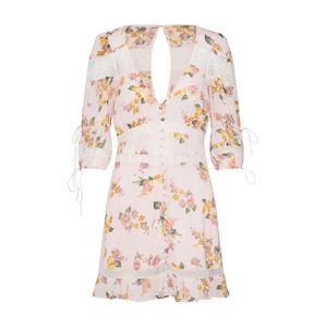 For Love & Lemons Letní šaty 'ISADORA MINI DRESS'  růžová