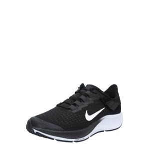 NIKE Sportovní boty 'Air Zoom Pegasus 37 FlyEase'  bílá / černá