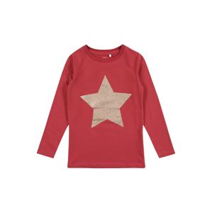 NAME IT Tričko 'RASTAR'  pastelově červená / stříbrná