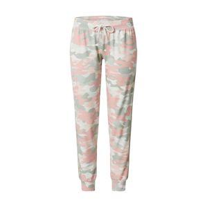PJ Salvage Pyžamové kalhoty  béžová / světle růžová / šedá