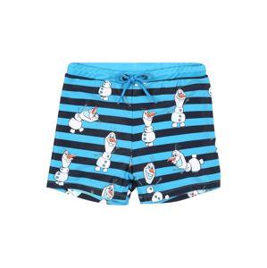 NAME IT Plavecké šortky 'Olaf'  noční modrá / aqua modrá