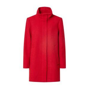 ESPRIT Přechodný kabát  tmavě červená