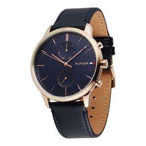 TOMMY HILFIGER Analogové hodinky  zlatá / námořnická modř