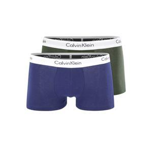 Calvin Klein Boxerky  jedle / modrá