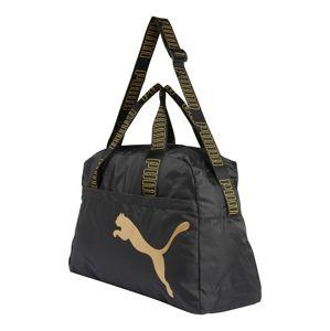 PUMA Sportovní batoh  černá / zlatá