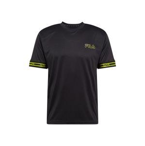 FILA Funkční tričko 'AFRICA'  černá