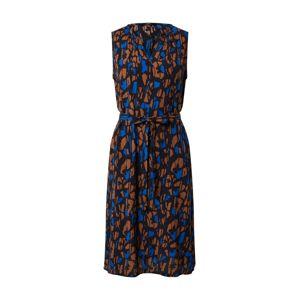 Someday Letní šaty 'Qasillo'  tmavě modrá / hnědá / černá