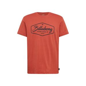 BILLABONG Tričko  červená / černá