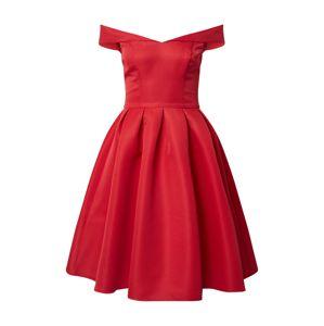Chi Chi London Koktejlové šaty 'Jade'  červená