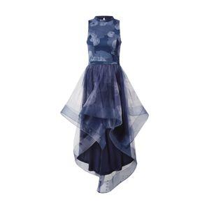 Chi Chi London Koktejlové šaty 'Farcia'  kouřově modrá / tmavě modrá