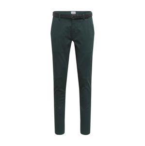 Lindbergh Chino kalhoty  tmavě zelená