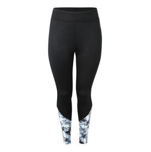 Active by Zizzi Sportovní kalhoty 'ADIAMONT'  světle šedá / černá