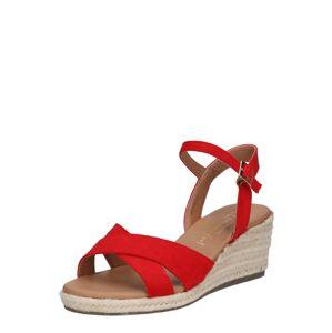 NEW LOOK Sandály 'YABBY-SDT'  červená