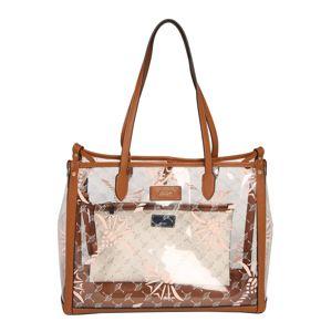 JOOP! Nákupní taška 'Cristallino Lelia'  offwhite / měděná