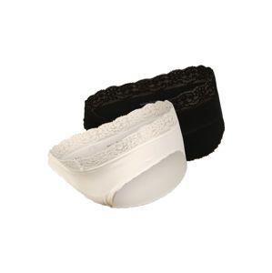MAMALICIOUS Kalhotky 'Alisa'  černá / bílá
