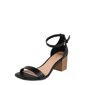 CALL IT SPRING Páskové sandály 'MAKENZIE'  černá