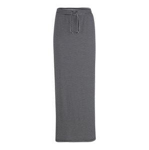 OBJECT (Tall) Sukně 'Stephanie'  tmavě modrá / bílá