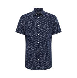 SELECTED HOMME Košile  tmavě modrá / bílá