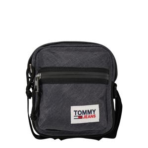 Tommy Jeans Messenger  černý melír / černá